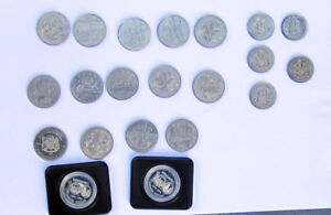 Silver Dollars & 50 Cent Pieces