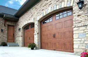 NEW GARAGE DOOR INSTALLED - SINGLE DOOR ONLY $850 INSTALLED