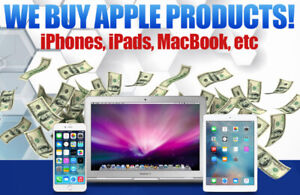 WE BUY ALL MacBook pro, MacBook Air, Mac Mini, Imac WITH APPLE W