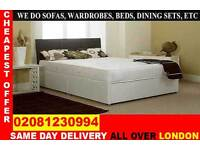 **** WOW FREE DELIVERY *** SINGLE DOUBLE SMALL DOUBLE KING SIZE BEDDING BASE ...CALL NOW