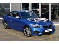 2014 14 BMW 2 SERIES 3.0 M235I 2D 322 BHP 2 DR 6 SP SPORTY PETROL COUPE. BLUE