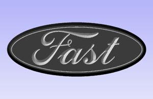 Custom Ford Truck Badge