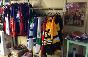Trading Sports Jerseys/Rings/Flags for Guitars/Drums