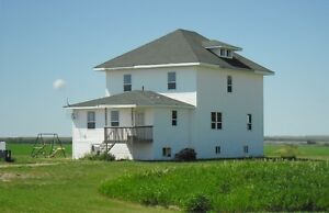 Character home on acreage in Melfort area!