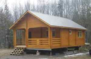 Cabin kits kijiji in ontario buy sell save with canadas 1 776 sqft log cabin bunkie cottage house kits solutioingenieria Choice Image