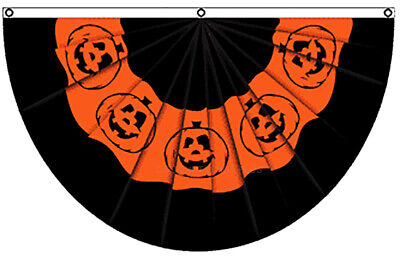 5x3ft Halloween Pumpkin Bunting