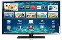 "Samsung UN55D6050 55"" 240Hz LED LCD Wi-Fi Smart TV HDTV"