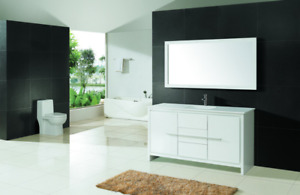 Contemporary Bathroom Vanity & Cabinet Formosa FM60S 1280.00
