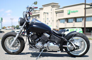05 Yamaha Custom Bobber. Very low kms. Trade for Versys.
