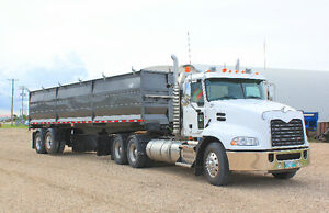 Grain Trailer End Dump