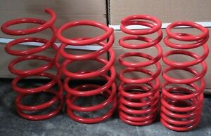 MITSUBISHI ECLIPSE 95-99 GS RS GST LOWERING SPRINGS RED