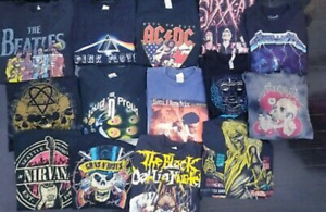 Vintage rock tour/band t-shirts 60's - 90's will pay $$