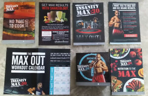 INSANITY MAX 30 By Shaun T - Total Home Body Conditioning!