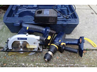 Performance Power Pro 18V circular saw & hammer drill £50