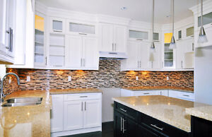 CUSTOM MADE KITCHEN CABINETRY & VANITY WASHROOM ALL SOLID WOOD