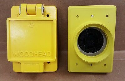 Daniel Woodhead 67w74 Watertight L14-20 Receptacle And Cover New In Box