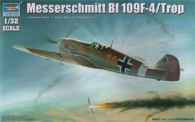 TRUMPETER® 02293 Messerschmitt Bf109F-4/Trop in 1:32