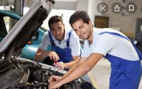 Sparkauto is looking for an automotive mechanic.