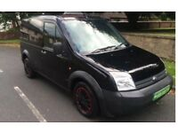 Ford Transit connect, in excellent condition, rare black one!!!