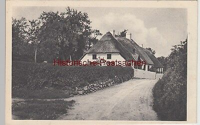(107216) AK Stolling bei Apenrade, Häuser neben dem Aufgang z. Bahnhof Knapp, vo