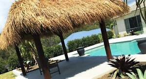 Resort Styled Thatched Pergolas - End of Financial Year Sale Bundall Gold Coast City Preview