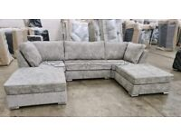 🌍 UK MADE👉U SHAPED SOFA IS IN STOCK WITH DISCOUNT 🚐 FREE DELIVERY