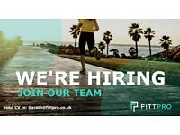 Personal Trainer Required for Fittpro