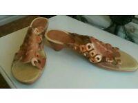 Picolinos Spanish design leather sandals