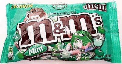 NEW Sealed Mint Dark Chocolate M&M's 10.20 oz Bag FREE WORLDWIDE SHIPPING