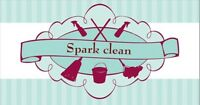 SPARK CLEAN.  We can make your place sparkle!