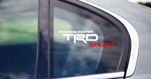 2X Car sticker Toyota TRD Sport