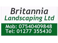 Britannia Landscaping Ltd. all landscaping and gardening undertaken