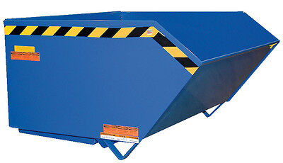 Self-Dumping Steel Hoppers with Bumper Release-Medium Dty. (10 gauge) 1 yrd Bumper Release Steel Hoppers