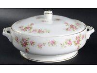 Duchess June Bouquet Vegetable Bowl with Lid