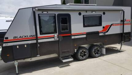 NEXTGEN -BLACKLINE 21'6 3 BUNK FAMILY CARAVAN MARCH SPECIAL ONLY