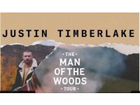 Justin Timberlake Tickets 11th July @ The 02 Arena - Floor Standing Tickets England Match Screens.