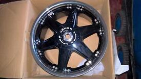 Brand new 17ich lenso rezien wheels , 4x100 4x114