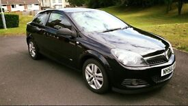 Black Vauxhall Astra 2007 3dr 1.6. good condition 6 months MOT FSH