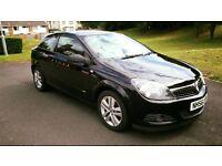 Black Vauxhall Astra 2007 3dr 1.6. good condition 6 months MOT FSH