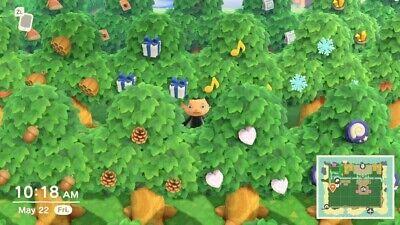 40 RARE Item Trees + Bonus 100 NMT Animal Crossing New Horizons