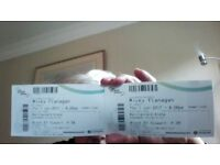 Tickets for Micky Flanagan barcklay card arena 1st june 2017 block 01 p38&p39