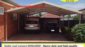 new  gable  carport 6 x 9 $ 2550 or 6  x 12 $ 3360 Ingleburn Campbelltown Area Preview
