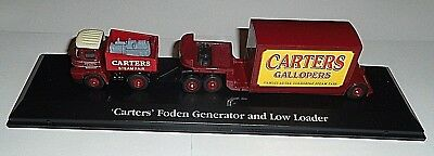 ATLAS EDITIONS Carters Foden Generator And Low Loader, 1/76 Scale. New Condition