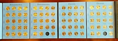 Dollar Complete Set - Complete Circulated Set (P&D) 2007-2016 Presidential $1 Golden Dollar (78) Coins