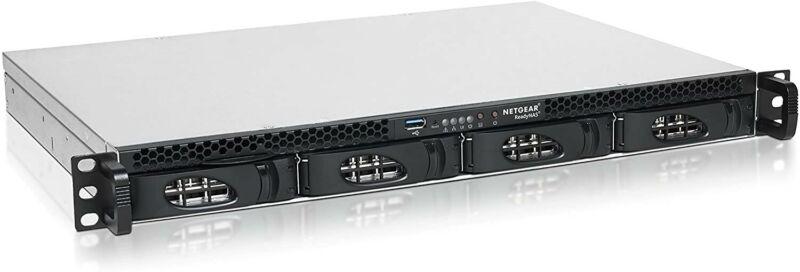 NETGEAR ReadyNAS 2304, Rackmount 1U 4-bay, Diskless (RR230400)