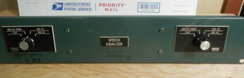 Rare Two Channel Altec Speech Equalizer (passive) with two UTC HML300 transfrmer