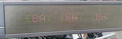 Programmable Sign - Adaptive Micro Systems Alpha 7120c W Remote