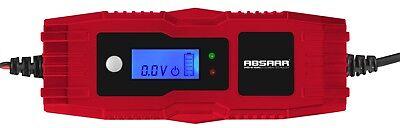ABSAAR AB 4 Vollautomatisches Batterieladegerät 4 Ampere 6V 12V Ladegerät Auto
