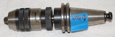 Jacobs Precision Keyless Chuck 1-13mm Kennametal Cat40 Adaptor Jkp-130-j33