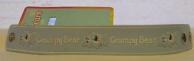 Care Bears GRUMPY BEAR Adjustable Adult Child Silicon Rubber Snap Bracelet - Adult Care Bear